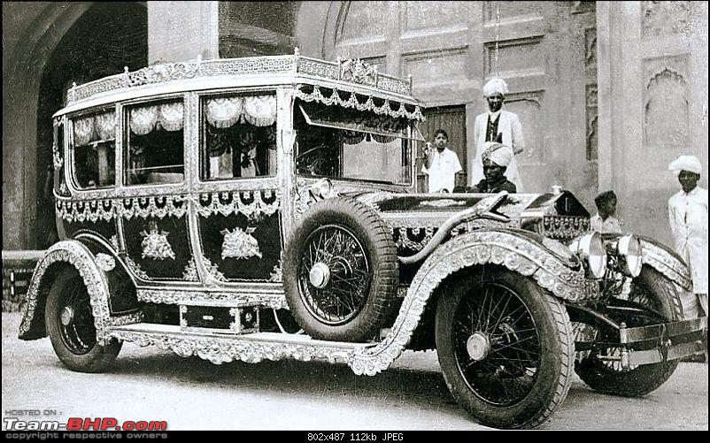 How rich were the Maharajas before Independence! Cars of the Maharajas-1907_rollsroyce_silverghost1.jpg