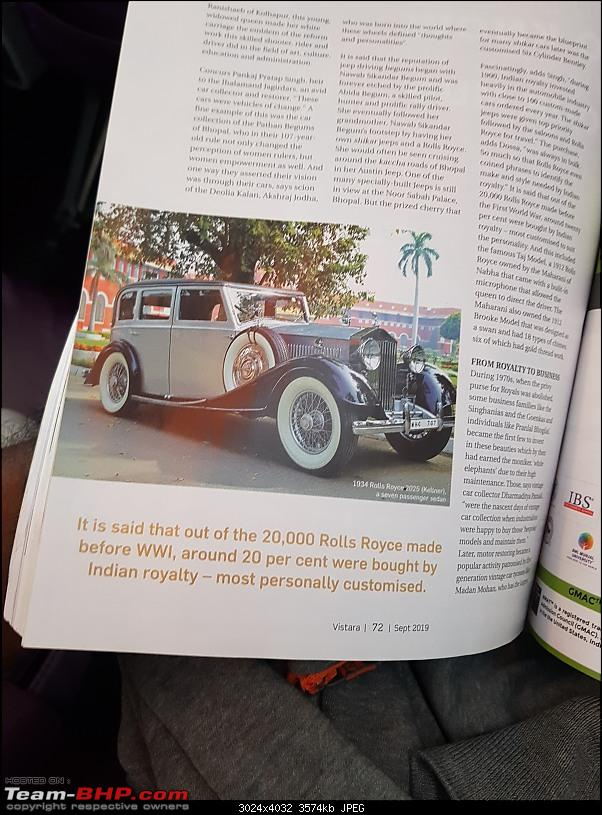 How rich were the Maharajas before Independence! Cars of the Maharajas-20190924_15520901.jpeg
