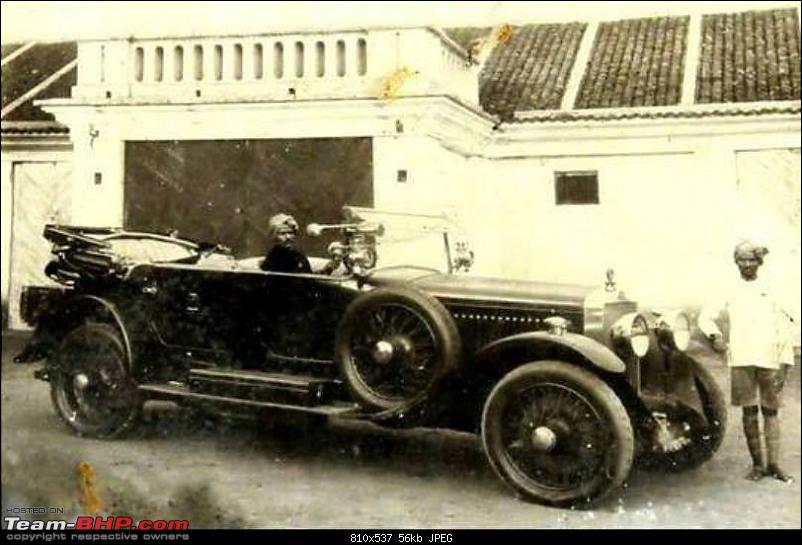 How rich were the Maharajas before Independence! Cars of the Maharajas-madras-presidency.jpg