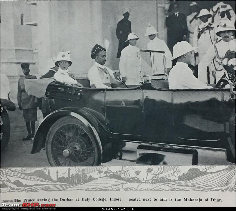 How rich were the Maharajas before Independence! Cars of the Maharajas-2.jpg