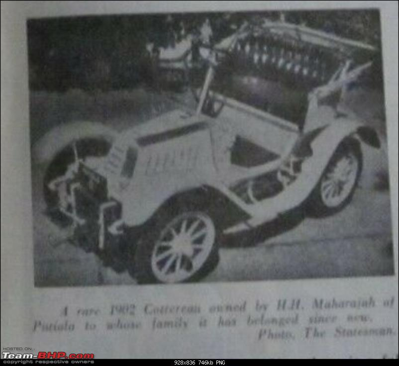 How rich were the Maharajas before Independence! Cars of the Maharajas-cottereon.png