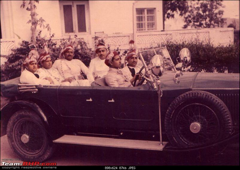 How rich were the Maharajas before Independence! Cars of the Maharajas-rw_tana_harisingh.jpg
