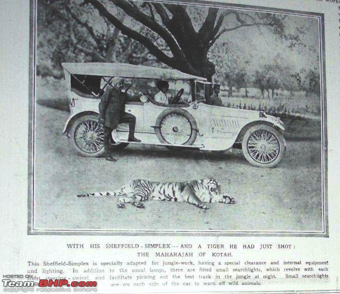 Name:  Maharaja Kota with sheffield simplex.jpg Views: 680 Size:  79.7 KB