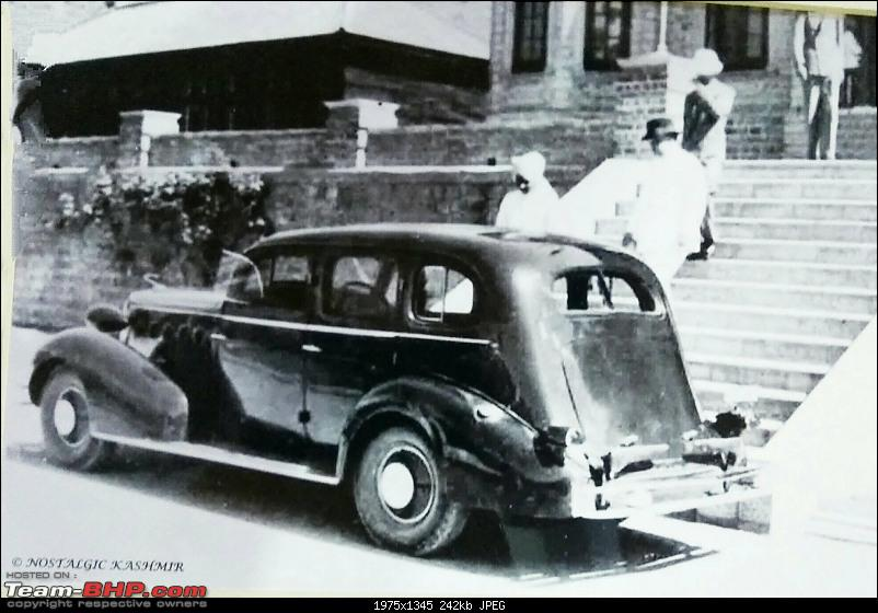 How rich were the Maharajas before Independence! Cars of the Maharajas-kashmir.jpg