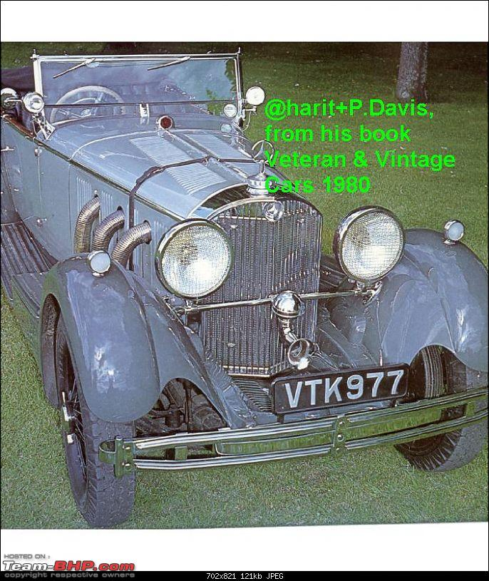 How rich were the Maharajas before Independence! Cars of the Maharajas-merc-kashmir.jpg