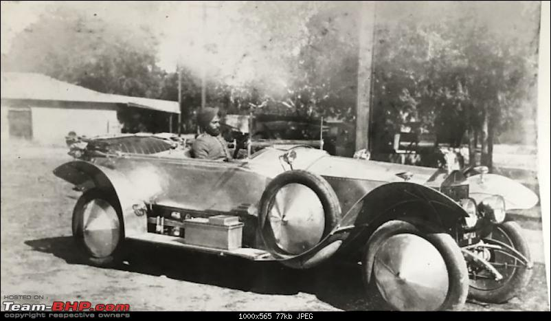 How rich were the Maharajas before Independence! Cars of the Maharajas-p2.jpg