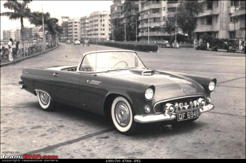 How rich were the Maharajas before Independence! Cars of the Maharajas-palitana-thunderbird-england-plates.jpg