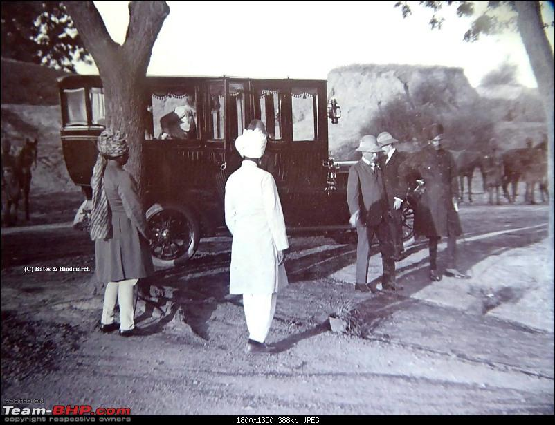 How rich were the Maharajas before Independence! Cars of the Maharajas-lord-minto-alwar-stables-1909..jpg