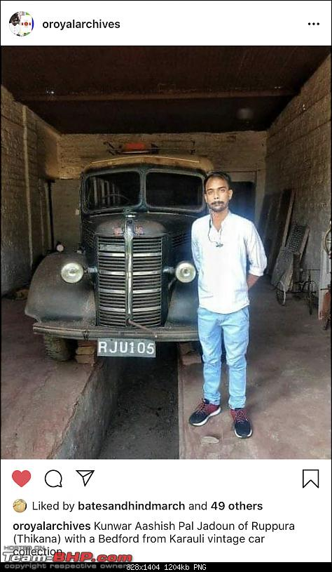 How rich were the Maharajas before Independence! Cars of the Maharajas-karauli.png