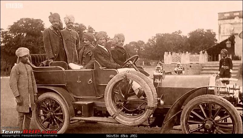 How rich were the Maharajas before Independence! Cars of the Maharajas-bbc-2.jpg