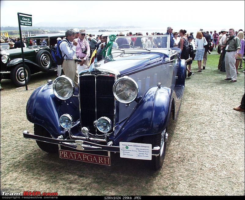 How rich were the Maharajas before Independence! Cars of the Maharajas-lanc01.jpg