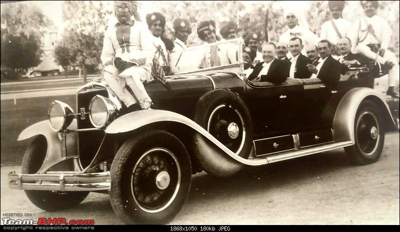 How rich were the Maharajas before Independence! Cars of the Maharajas-bikaner.jpg