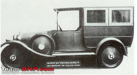 Name:  _827 1924 3 litre Barker Wagonette Hari Singh source Barker factory photo.JPG