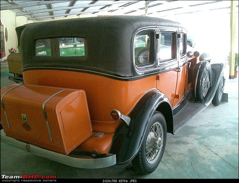 Pranlal Bhogilal Collection -  Auto World - Dasthan - Kathwada - Gujarat-auburn02.jpg <br /> 1935 Auburn 851.<br /> <br /> <a href=