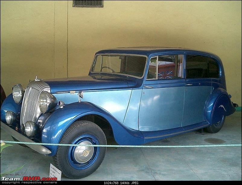 Pranlal Bhogilal Collection -  Auto World - Dasthan - Kathwada - Gujarat-daimler04.jpg