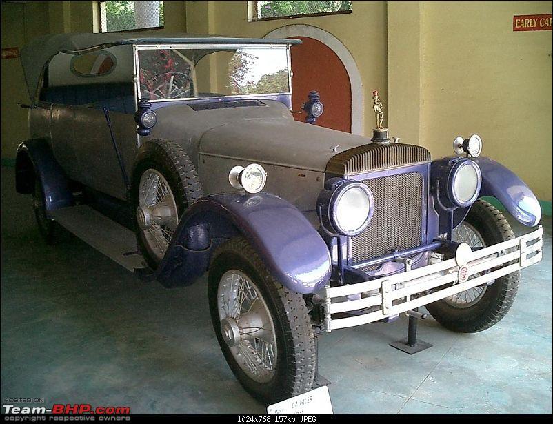Pranlal Bhogilal Collection -  Auto World - Dasthan - Kathwada - Gujarat-daimler06.jpg