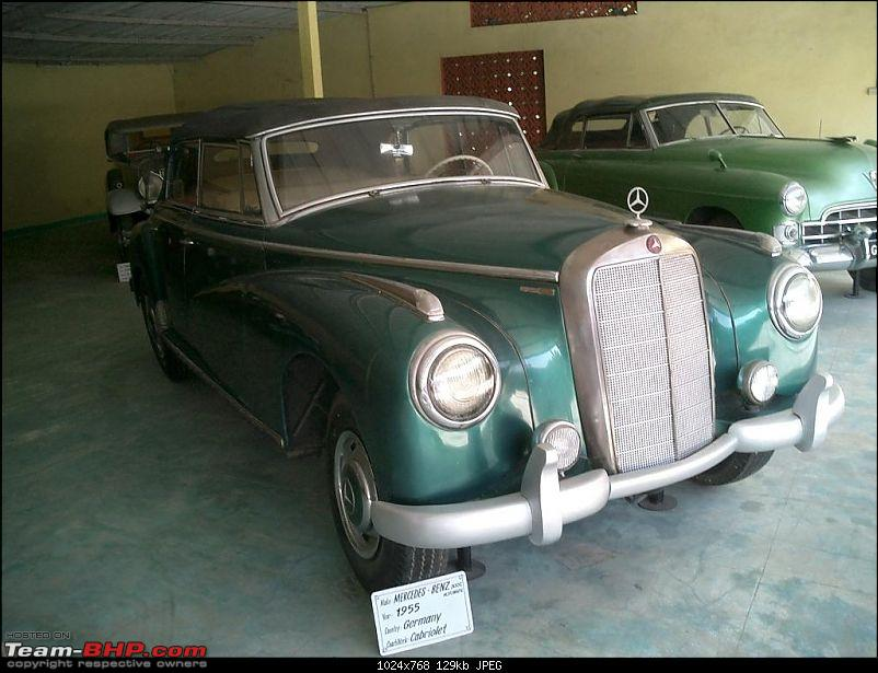 Pranlal Bhogilal Collection -  Auto World - Dasthan - Kathwada - Gujarat-mercedes04.jpg