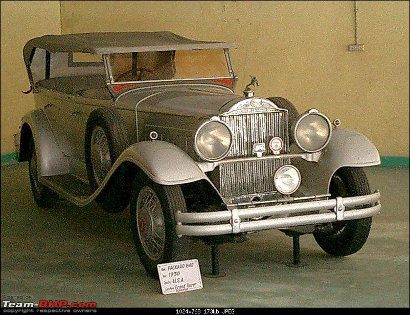 Pranlal Bhogilal Collection -  Auto World - Dasthan - Kathwada - Gujarat-packard01.jpg