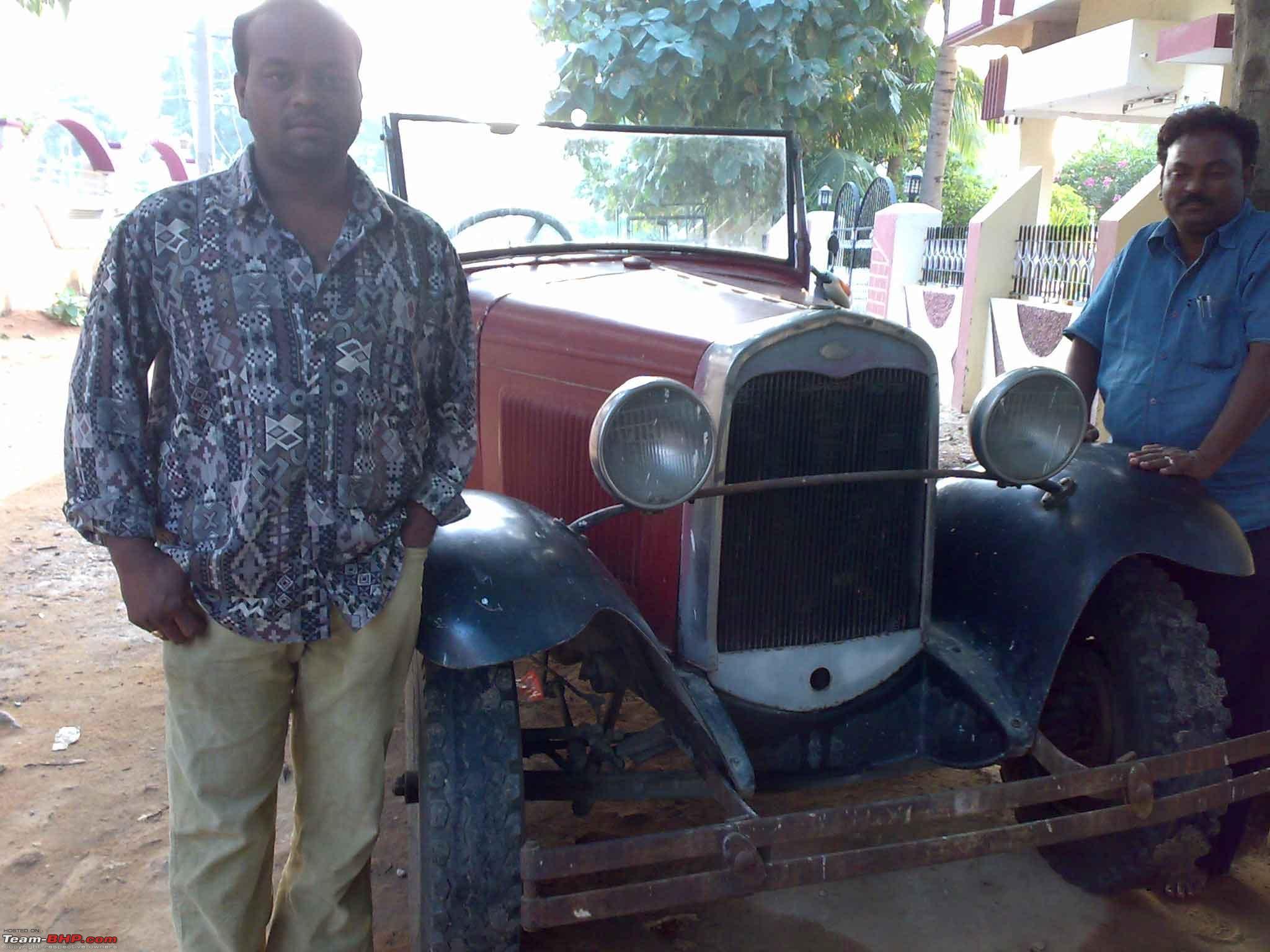 Restoring a 1930 Ford Model A