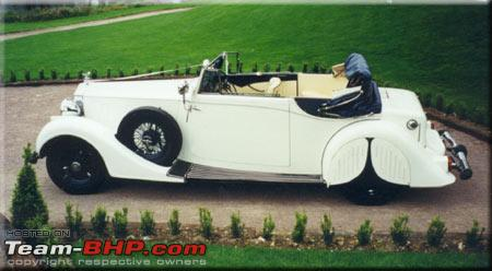 Name:  Baroda Rolls Royce Phantom III 1937 Mayfair Chassis 3BT121 Side profile White.jpg