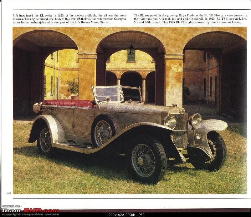 How rich were the Maharajas before Independence! Cars of the Maharajas-alfaromeocastagna.jpg