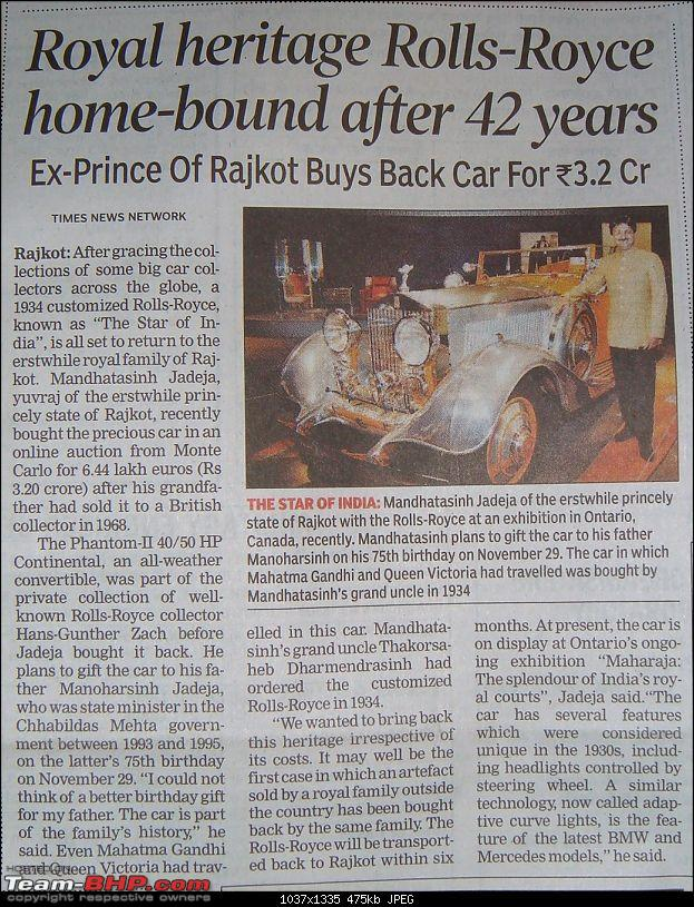 The Star of India : Rajkot's Rolls Royce. EDIT: Coming home after 42yrs!-dsc04385.jpg