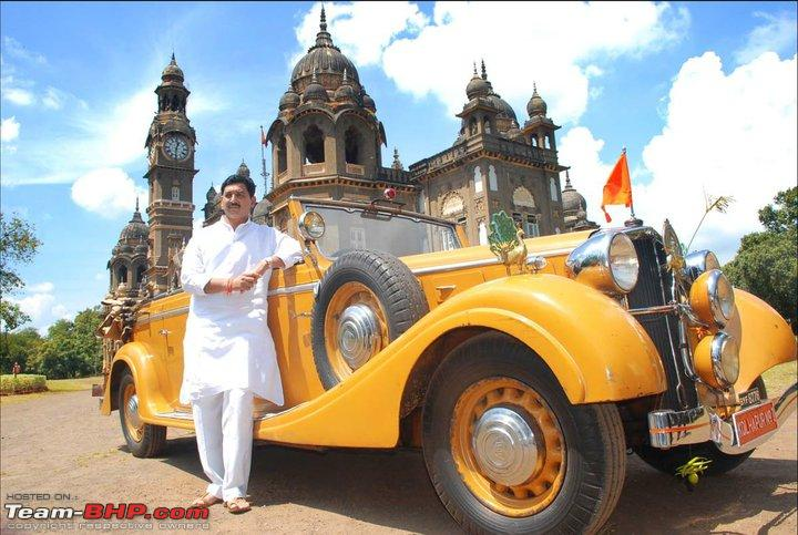 How rich were the Maharajas before Independence! Cars of ... Sadiq