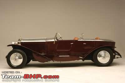 Name:  BARODA Rolls Royce Phantom II 1930 Chassis 70WJ Barker.jpg