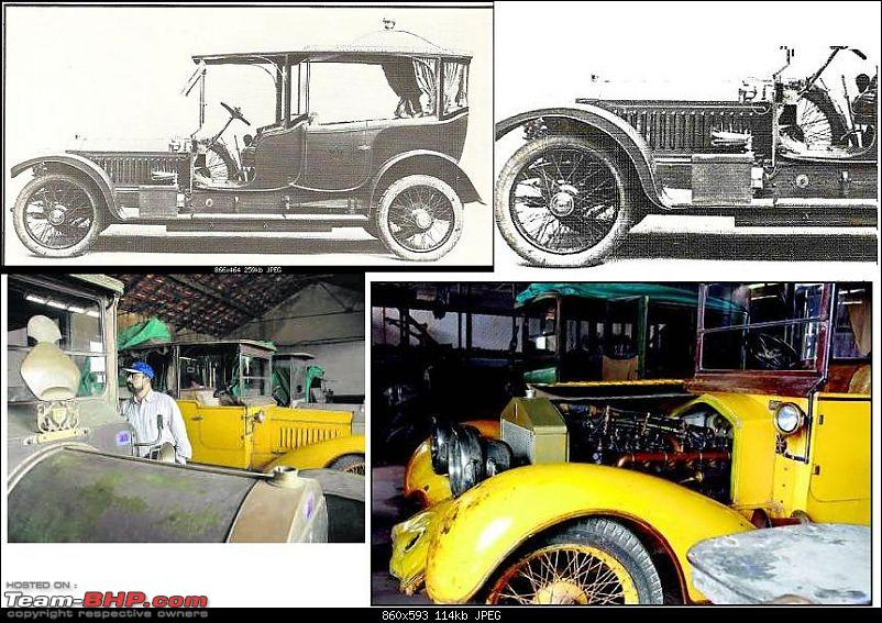 How rich were the Maharajas before Independence! Cars of the Maharajas-nizam-hyderabads-rolls-royce-throne-car3.jpg