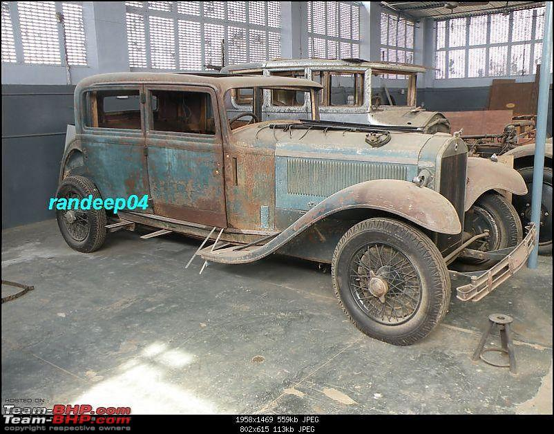 How rich were the Maharajas before Independence! Cars of the Maharajas-dilamb.jpg