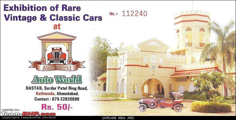 Pranlal Bhogilal Collection -  Auto World - Dasthan - Kathwada - Gujarat-memo019.jpg