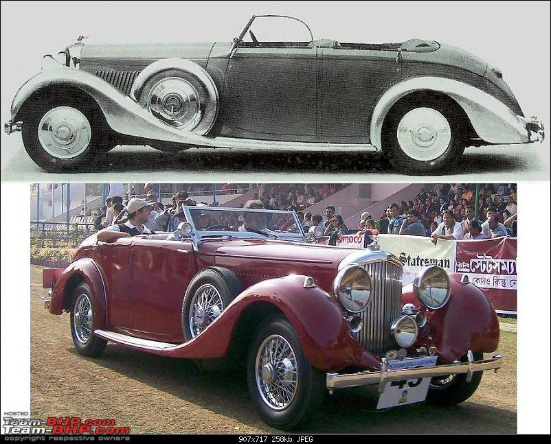 How rich were the Maharajas before Independence! Cars of the Maharajas-hyderabad-bentley-b104mr.jpg