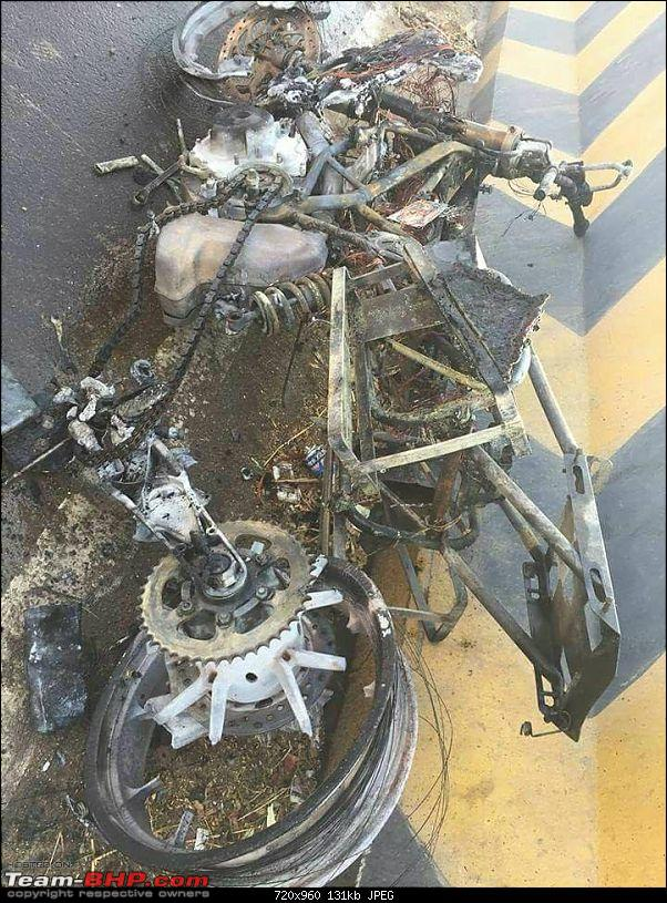 Duke 390 accident: Golden Quadrilateral record attempt gone wrong!-28685978_2480631775496293_4187492533933474532_n.jpg