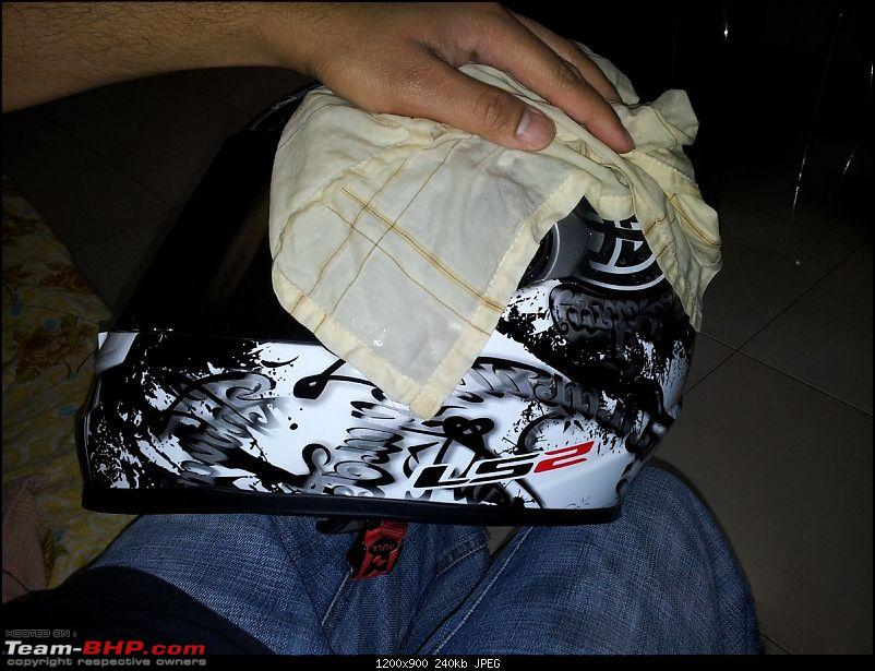 How To: Clean your motorcycle helmet-1-wipe.jpg
