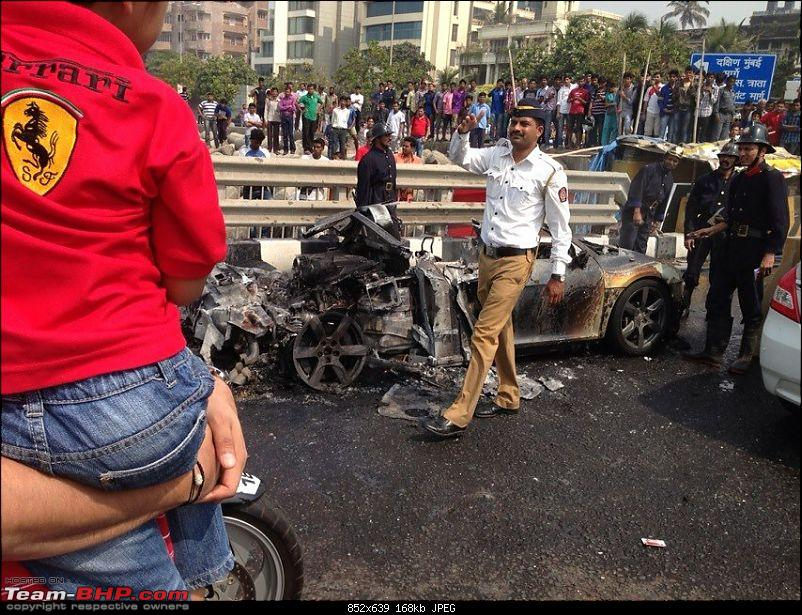 Accidents : Vehicles catching Fire in India-r82.jpg