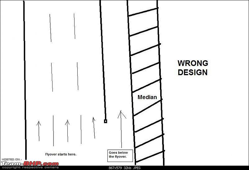 Pics: Accidents in India-wrong_flyover_design.jpg