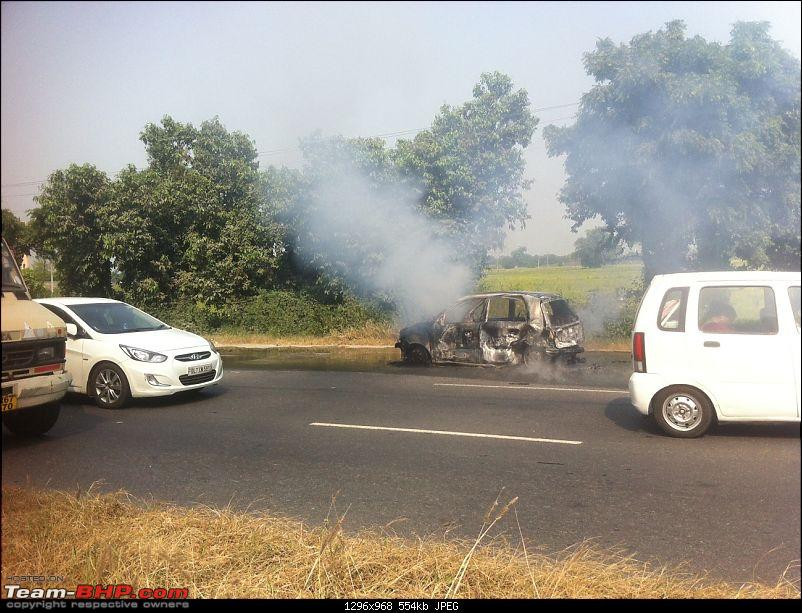 Accidents : Vehicles catching Fire in India-photo-11.jpg