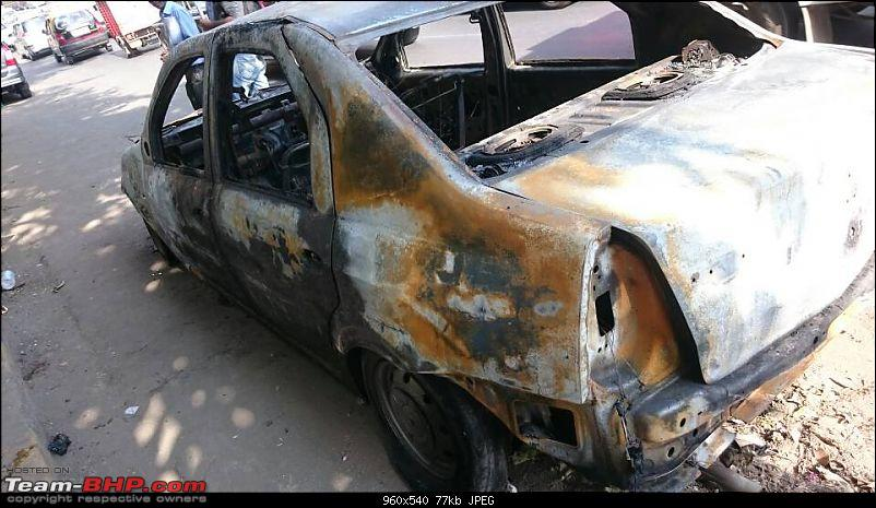 Accidents : Vehicles catching Fire in India-1417857059200.jpg