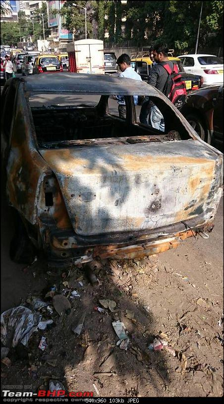 Accidents : Vehicles catching Fire in India-1417857077870.jpg