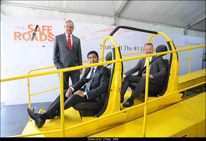 Mercedes Safety Tech Demo - At the Mumbai Airstrip-saferoads3.jpg