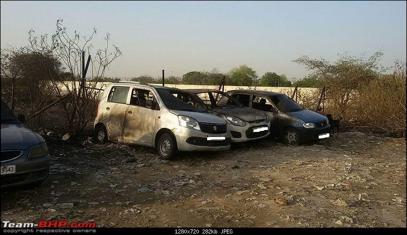 Accidents : Vehicles catching Fire in India-team-bhp5.jpg