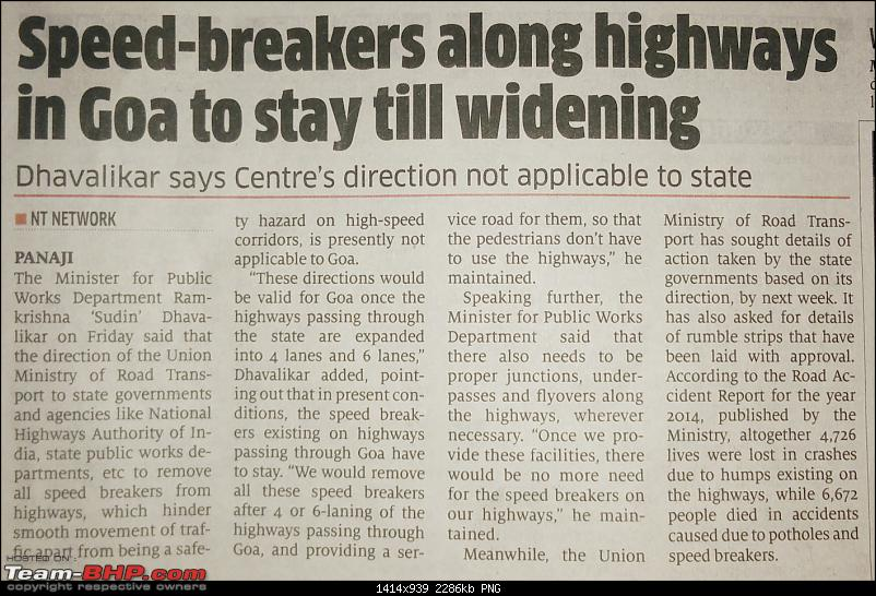 Govt order: No speed breakers on National Highways-img_20160416_104221.png