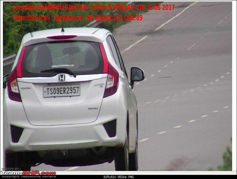 Honda Jazz from Hyderabad accrues Rs. 1.8 lakh of overspeeding fines in a year!-jazz.png