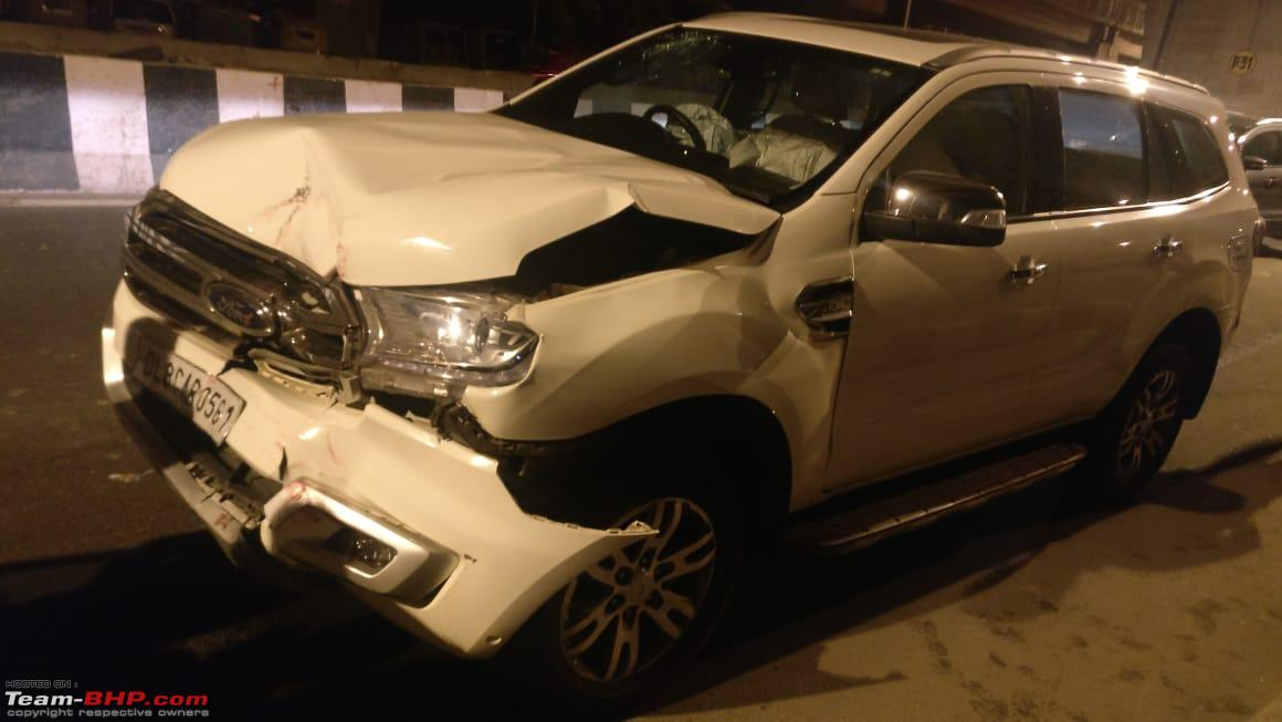 Xuv500 Severe Crash But Not A Single Airbag Deployed Driver