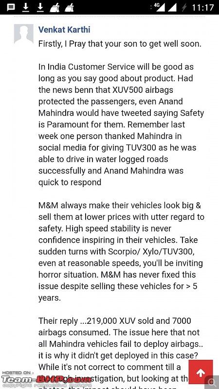 XUV500: Severe crash, but not a single airbag deployed (driver injured)-screenshot_20180803231709540x960.jpg