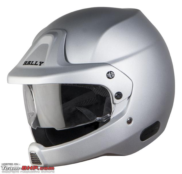 Name:  SB51 Rally Mat Silver with clear visor.jpg