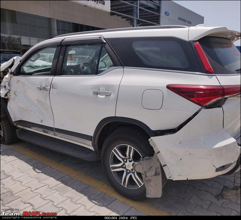 Toyota Innova Crysta ZX rolls over thrice! None of the 7 airbags deploy-20190628_145721.jpg