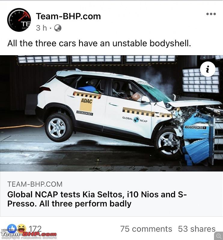 Global NCAP tests Kia Seltos, i10 Nios and S-Presso. All three perform badly-37234.jpg