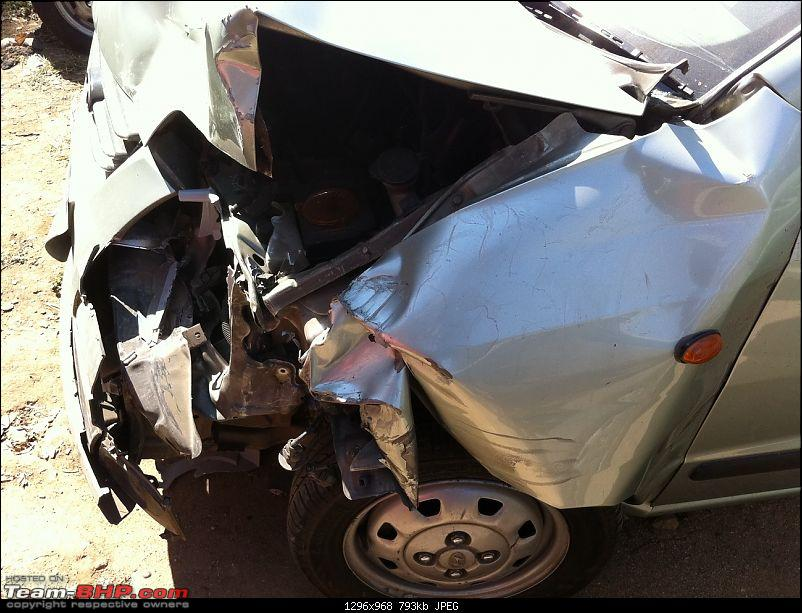 Pics: Accidents in India-front-damage-2.jpg