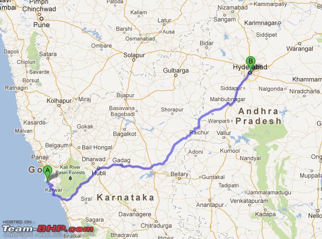 Hyderabad To Goa Route Map Hyderabad To Goa Route Map | compressportnederland Hyderabad To Goa Route Map